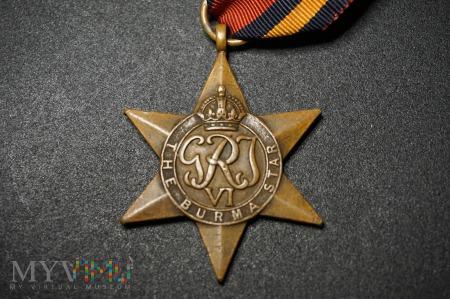Medal Brytyjski - Gwiazda Birmy