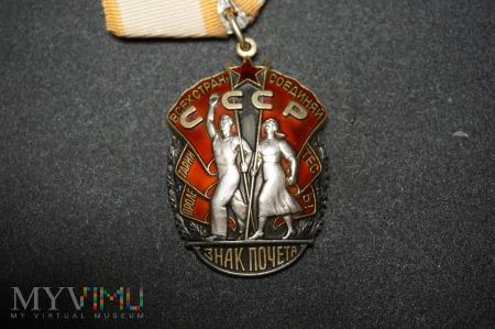 Order Znak Honoru - typ 4 wariant 3