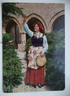 Strój ludowy Włochy Costumi d'Abruzzo