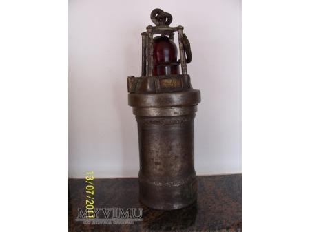 LAMPA GÓRNICZA ELEKTRYCZNA - TYP 950-00 - 1950r
