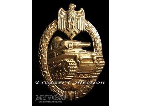 Panzerkampfabzeichen in bronze - Rudolf Kernet