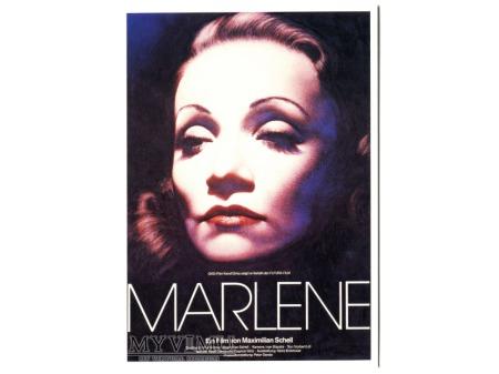 Duże zdjęcie MARLENE Dietrich 1984 Gottfried Helnwein film