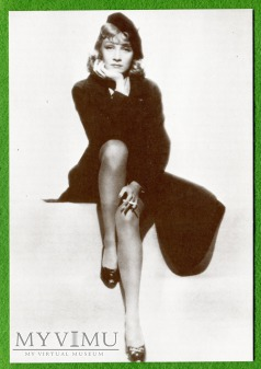 Marlene Dietrich Sofraneme Pocztówka Cp 34