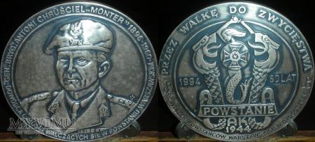 021. MONTER-Gen.Brygady Antoni Chruściel.Wersja II