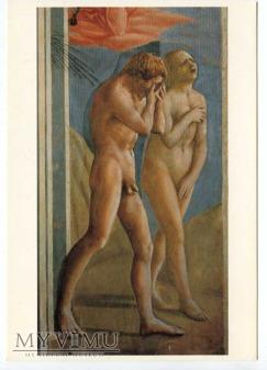 Masaccio - Wygnanie z raju