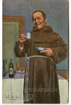 Monk Friar Mönch capucin zakonnik - degustacja 11