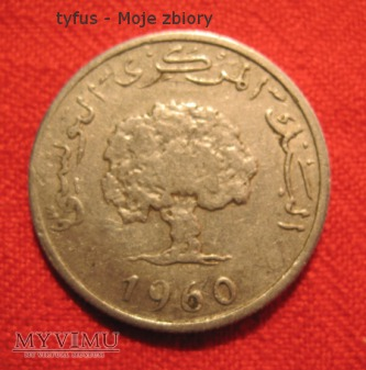 2 MILLIM - Tunezja (1960)