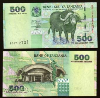 Tanzania - P 35 - 500 Shilingi - 2003