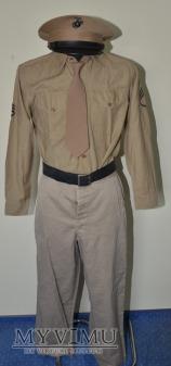 USMC Khaki service summer Ssgt. uniform