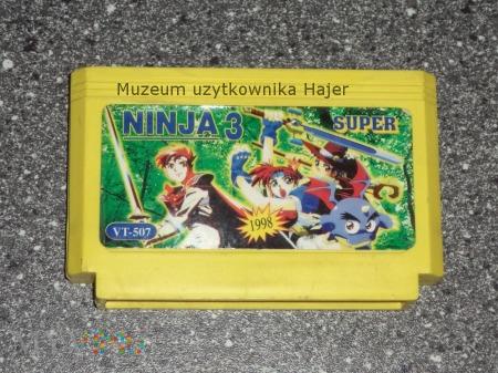 NINJA 3 SUPER 1998 Kartridż Gra Pegasus