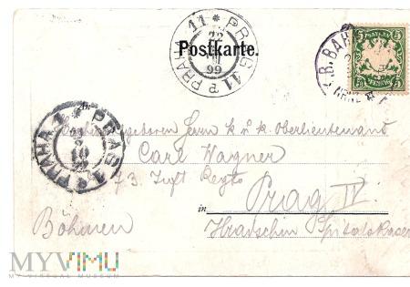 32.Postkarte.1899 r.Rewers