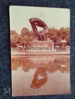 WARSZAWA Pomnik Fryderyka Chopina (1926, praj. W.