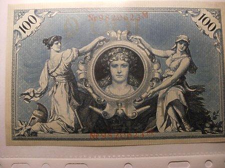 100 marek 1908 rok.