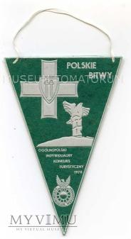 """Proporczyk - """"POLSKIE BITWY"""" 1978"""