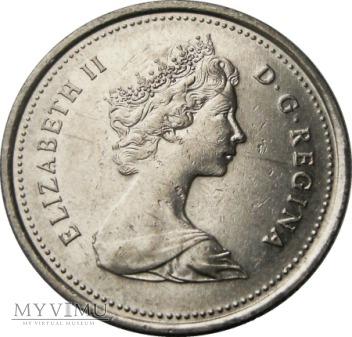 25 centów, 1986 rok.