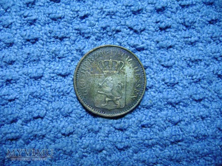 1 pfennig 1867