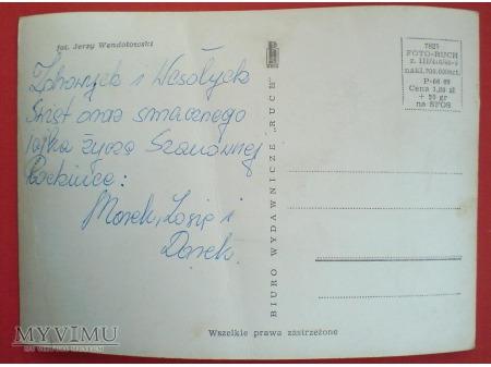 Wielkanocne życzenia dla RODZINKI PRL c. 1970