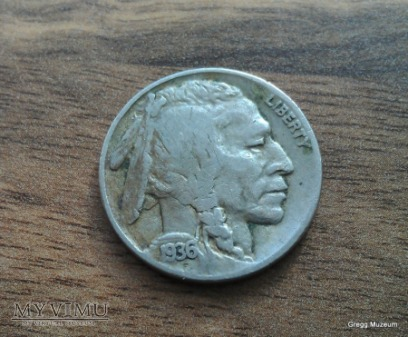 USA 5 Cents 1936 Liberty