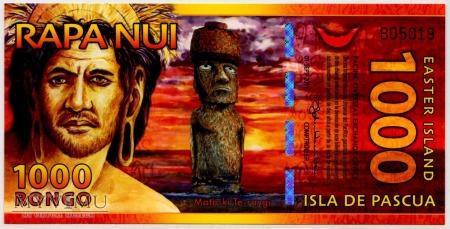 Isla De Pascua - 1000 Rongo 2011