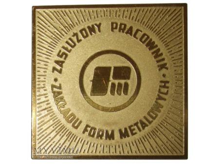Zakład Form Metalowych medal złoty