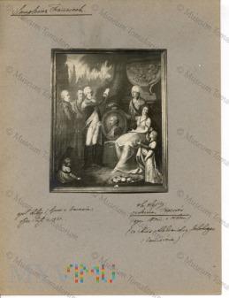 Zamoście - obraz z dworu - Rodzina Prozorów