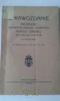Sprawozdanie Komitetu Pomocy Zimowej