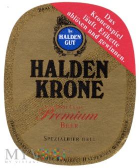 HALDEN KRONE PREMIUM BEER