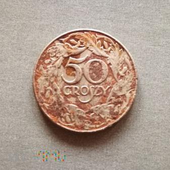 50 groszy 1938 - Generalna Gubernia
