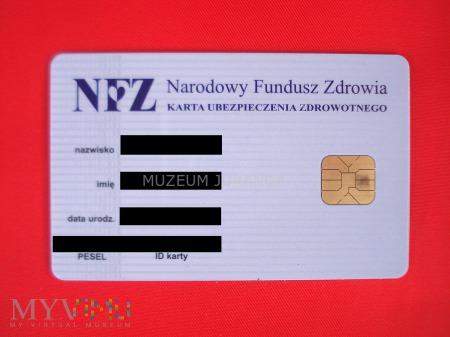 Karta Ubezpieczenia Zdrowotnego NFZ
