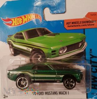 25. Ford Mustang - blister