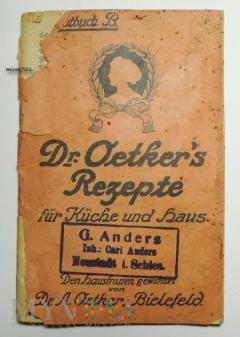 Dr.Oetker´s Rezepte für Küche und Haus