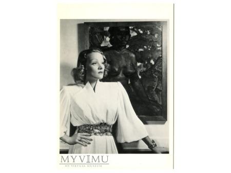 MARLENE Dietrich Nickolas Muray lata 30-te