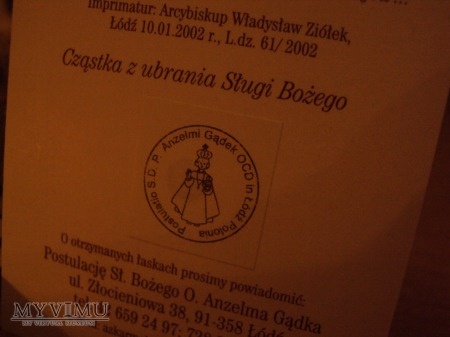 Sługa Boży o. Anzelm od św. Andrzeja Corsini OCD