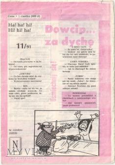 Dowcip...za dychę 11/91