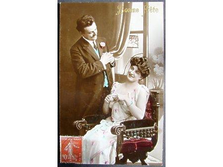On i Ona - Postkarte