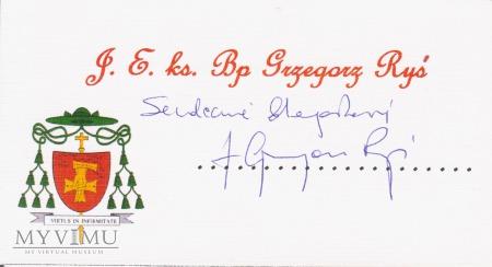 J.E. ks. bp Grzegorz Ryś