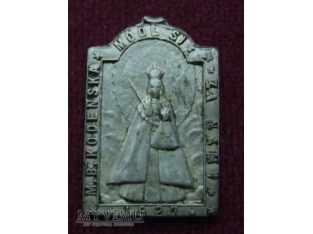 Stary medalik Matką Bożą Kodeńską nr.3
