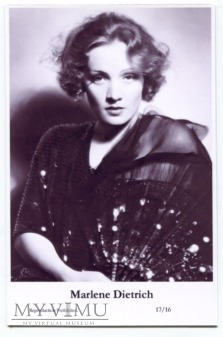 Marlene Dietrich Swiftsure Postcards 17/16