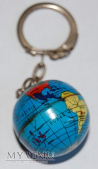 Brelok globus