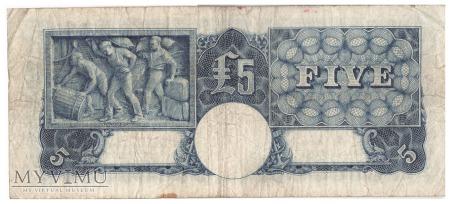 Australia - 5 funtów (1952)