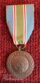 "Medal ONZ ""In The Service of Peace"""
