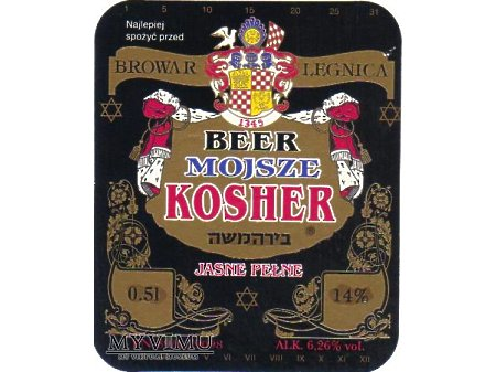 Etykieta KOSHER 19