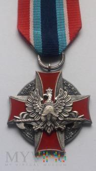 Odznaka Zasłużony dla Ochrony Ppoż. - srebrna