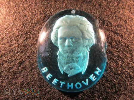 Szklane medaliony-KWHW R. Bethoven