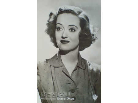 Duże zdjęcie Bette Davis - Pocztówka P.I. ach te oczy....