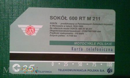 PL009 Karta Sokół 600