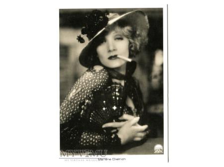 Marlene Dietrich BLOND WENUS papieros kapelusz