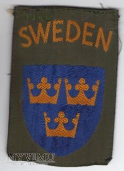 Oznaka przynależności państwowej SWEDEN