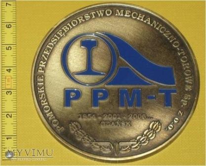 Duże zdjęcie Medal kolejowy - firmowy PPMT Gdańsk