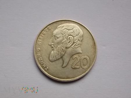 20 CENTÓW 2001 - CYPR